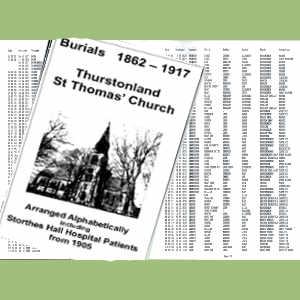 Thurstonland, St Thomas, Burials
