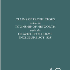 Claims made at Hepworth under the 1828 Inclosure Act
