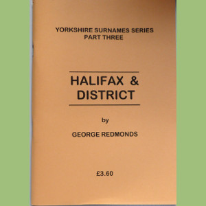 Halifax & District Surnames