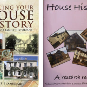 House History Book & Record Book – Offer