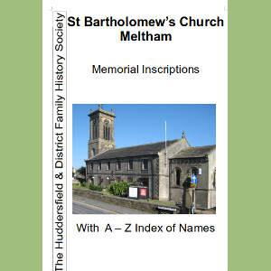 Meltham St Bartholomew, Memorial Inscriptions