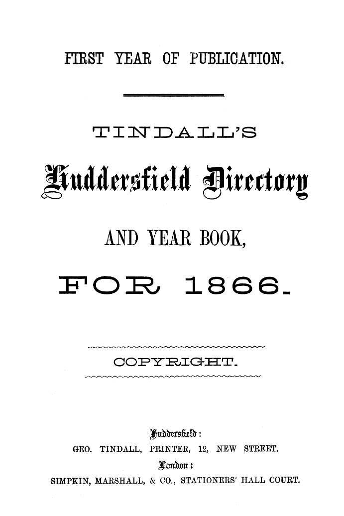 tindalls directory 2
