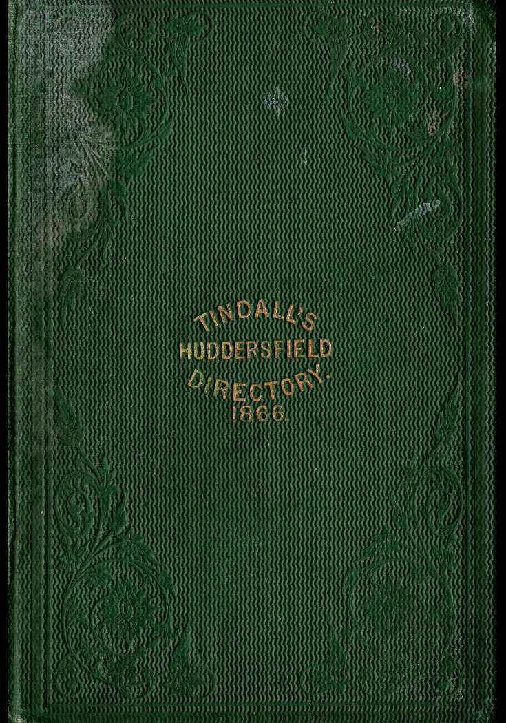 tindalls directory book cover